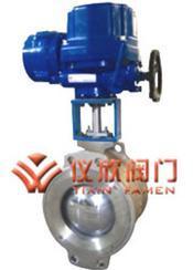 电动V型调节球阀产品