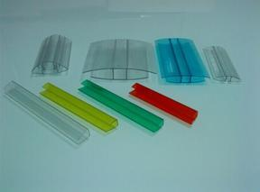 供应PC阳光板耐力板安装拼接配件压条