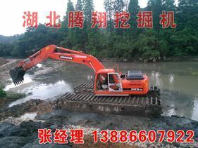 水陆两用挖掘机出租厂家