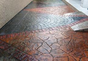 压模地坪强化料以及模具 压花地坪 仿木地坪 仿古地坪施工方法