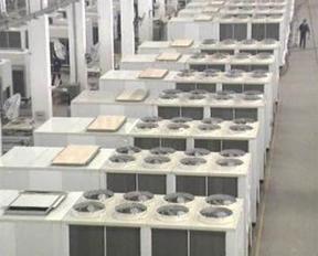 屋顶式空调机组(风冷热泵)