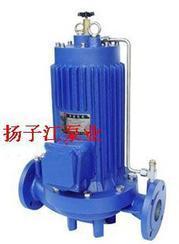 管道泵:G型屏蔽式管道泵