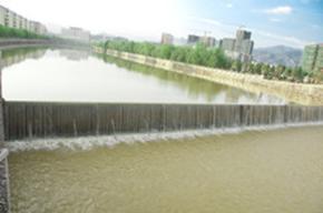 寻乌弧形液压坝 拦水坝 溢流坝 橡胶橡皮坝