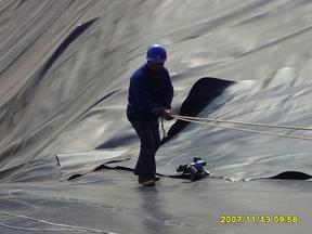藕池土工膜,聚乙烯防渗膜,土工膜厂家