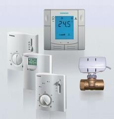 西门子嵌入式房间温控器RDF310.2/MM,大液晶温控器,风机盘管温控器,西门子温控器