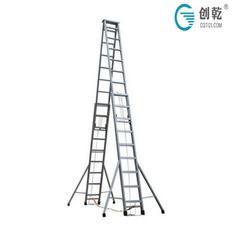 CQS-4米 伸缩梯(工程)人字梯 拉升梯