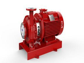 XBD-W卧式单级切线恒压消防泵