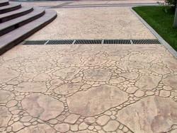 供应苏州彩色混凝土艺术压模地坪