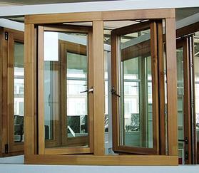 科度高端阳光房铝木门窗 梦添铜门
