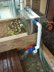 K.100SU楼顶花园鱼池水处理