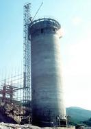 乌兰察布混泥土烟囱滑模、乌兰察布水泥烟囱新建