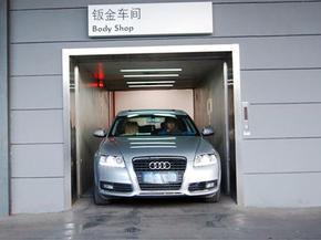 雪铁龙,宝马4S店升降车辆电梯,曳引式变频3吨汽车电梯报价,电梯厂家