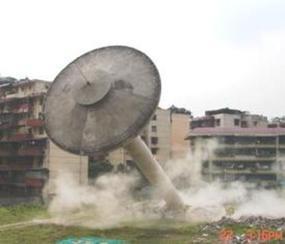 拆除伞形水塔公司