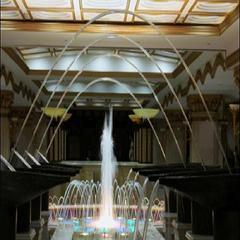 水帘喷泉、水膜喷泉