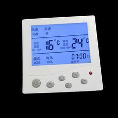 暖逸中央空调 液晶温控器 风机盘管温度控制器三速开关 控制面板(800)