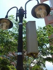 室内外防水有源音柱 户外铝合金防水有源音柱