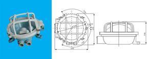 DS7-W工作作业灯机炉舱灯干货舱灯管弄灯轴隧灯甲板灯