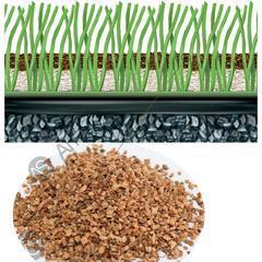 人造草坪填充颗粒 软木颗粒