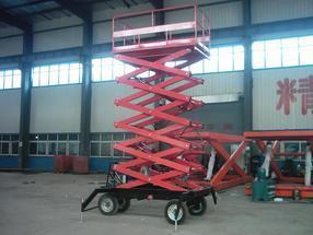 青岛升降机,高空作业升降平台