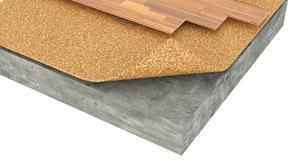 地板下防潮软木地垫