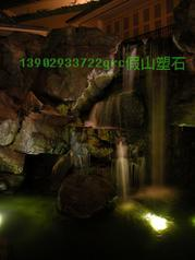 grc瀑布塑石