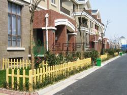 仿木栅栏,隔离护栏,景观护栏,绿化护栏,小区栅栏