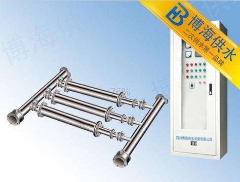 静音管道式泵组变频供水设备