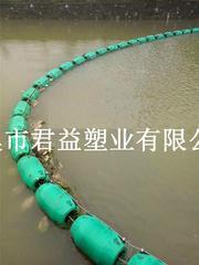 君益拦污浮体/LLDPE材料/聚乙烯浮体/滚塑浮体加工