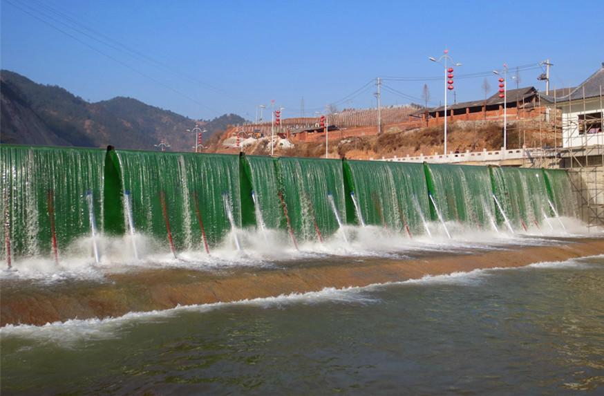 液压升降坝,翻板门坝,钢坝性能对比图片