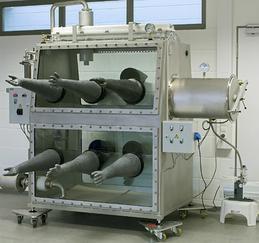 工业专用化学品操作2GB循环再生手套箱