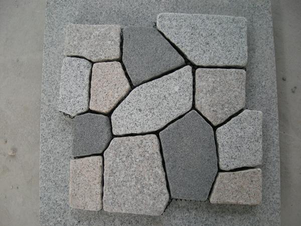 混合花岗岩马赛克网贴地铺hzm-67