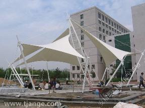 河北膜结构遮阳伞/安格膜建筑sell/天津膜结构遮