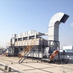 专业有机废气处理专业制造活性炭吸附催化一体化设备