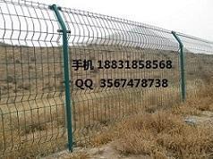 三角折弯护栏网 折弯护栏网 压弯护栏网