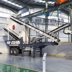山东石料破碎机厂家建筑垃圾处理再生利用移动破碎站