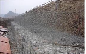 高尔凡镀锌格宾网 格宾石笼厂家直销 河道加固格宾网垫
