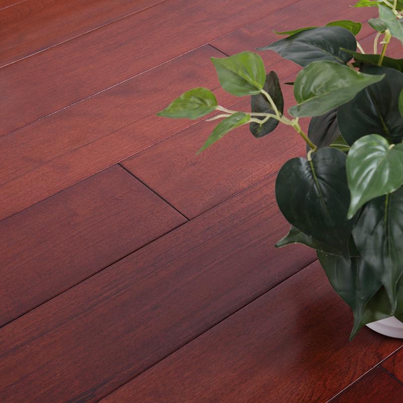 桦木仿古实木地板室内木地板