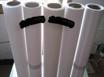 供应丝绢布高光白画布广告耗材