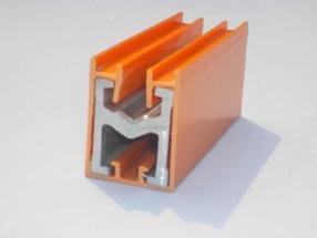 H型单极铜滑线
