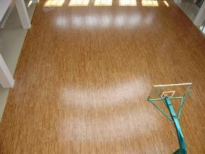篮球场枫木运动地板,体育馆实木运动地板厂家