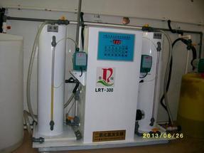 饮用水消毒设备专用新疆二氧化氯发生器烟尘点被查