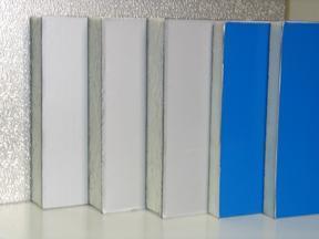 彩钢面聚氨酯保温板