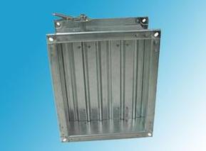 镀锌板对开多叶调节阀和镀锌板铆接风阀