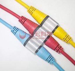 健宏M20 防水连接器 大电流工业防水连接器 厂家供应