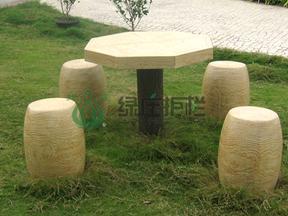 仿木,仿木桌凳,景观小品,休闲桌凳,园林绿化