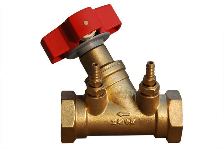 sp45-16数字锁定平衡阀图片