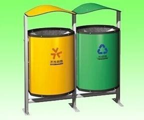 供应广东地区户外公园小区园林垃圾桶