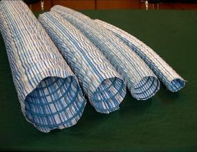 土工材料软式加筋复合管,软式透水管