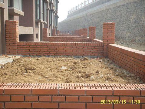别墅小区私人花园围墙用清水墙砖