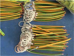 BVR光伏双色黄绿静电跨接线